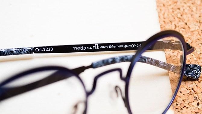 Matttew eyewear Les Belles Gueules opticien Bordeaux