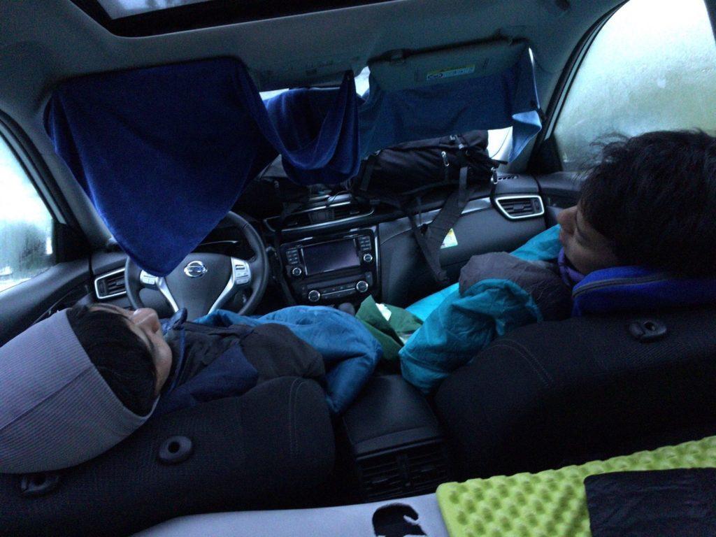 アイスランド車中拍