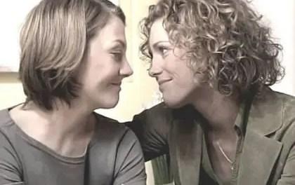 Verbotene Liebe y sus parejas lésbicas