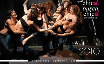 Chica busca Chica foto exclusiva del calendario