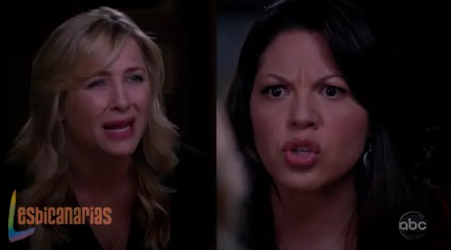 Callie y Arizona ¡Fight!