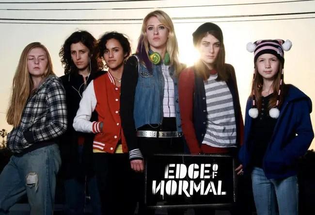 """""""Edge of Normal"""" una serie lésbica genial"""
