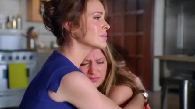 Nadie mejor que una hermana para consolar en condiciones.