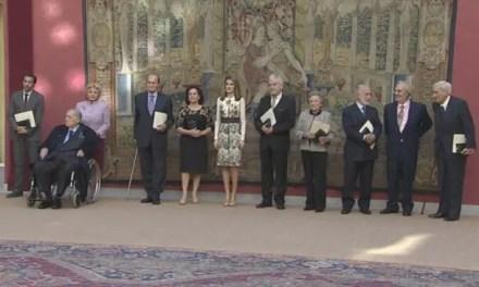 La Princesa Letizia cita a «La Vida de Adele» en una premiación
