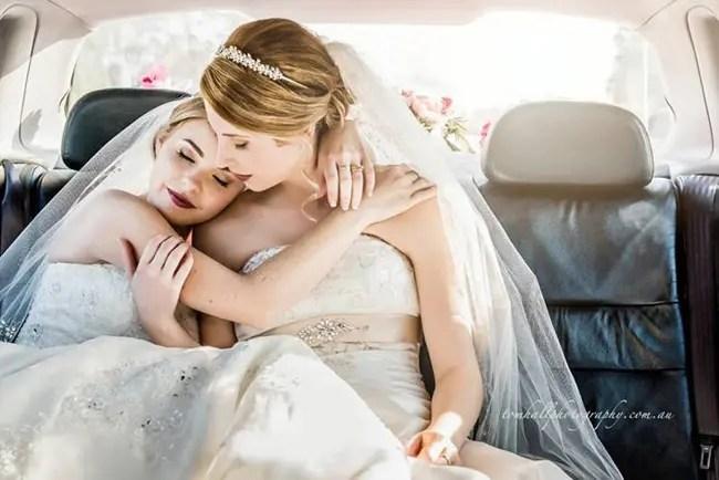 fotos de bodas lésbicas