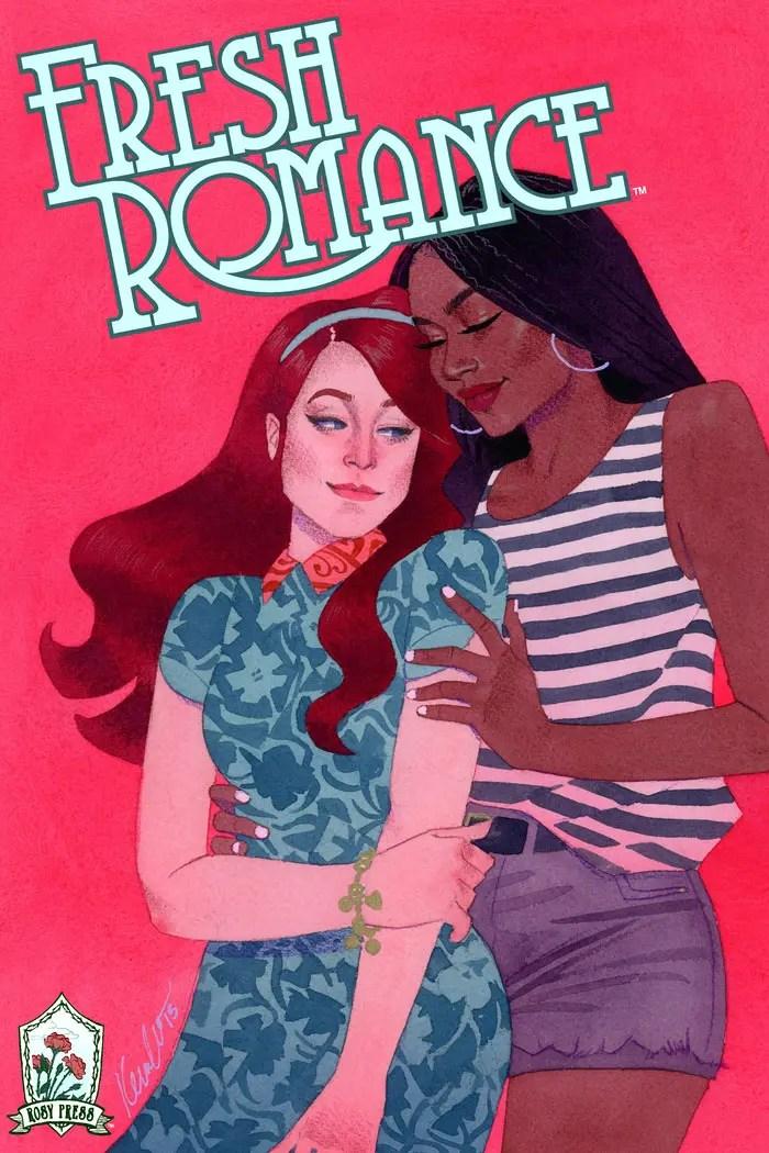 Fresh Romance comic lésbico