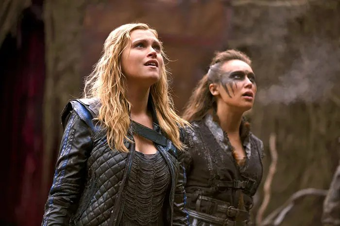 Lexa y Clarke