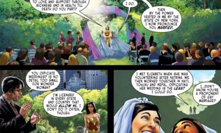 La Mujer Maravilla también apoya el matrimonio homosexual