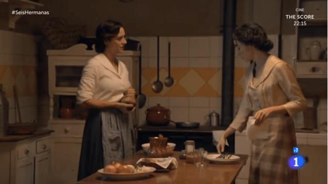 Celia y aurora cena