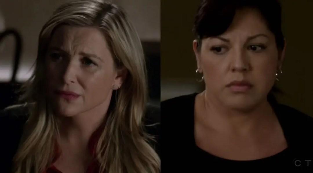 Callie y Arizona no se ponen de acuerdo
