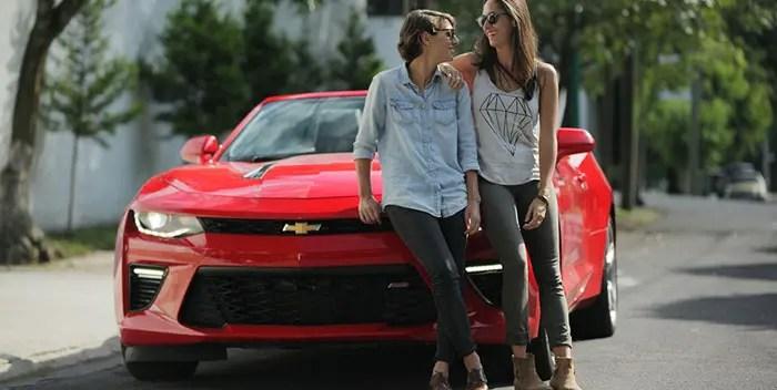 pareja lésbica comercial Chevrolet