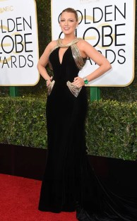 Blake Lively Golden Globes 2017