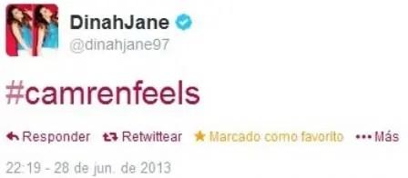 Dinah Tweet Camren