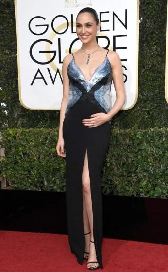 Gal Gadot Golden Globes 2017