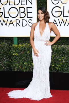 Gina Rodriguez Golden Globes 2017
