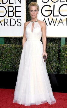 Guillian Anderson Golden Globes 2017