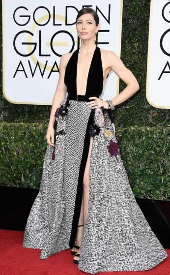 Jessica Biel Golden Globes 2017