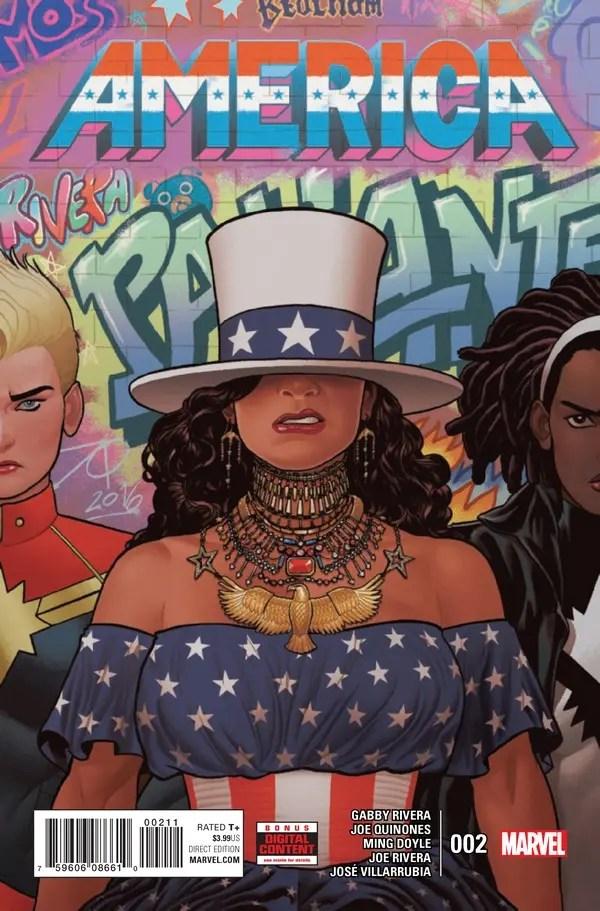 America 2 portada