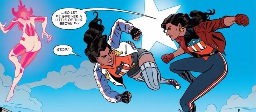 America Chavez regresa en el tiempo