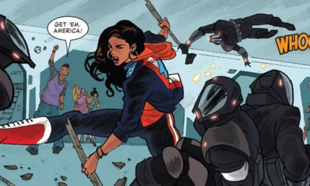 America 9: The world is yours – cómics lésbicos