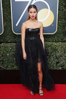 Mandatory Credit: Photo by REX/Shutterstock (9307701by) Jamie Chung 75th Annual Golden Globe Awards, Arrivals, Los Angeles, USA - 07 Jan 2018