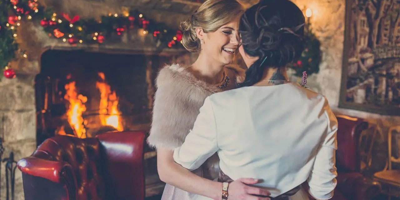 La boda de ensueño de Emer y Kristine te alegrará el día