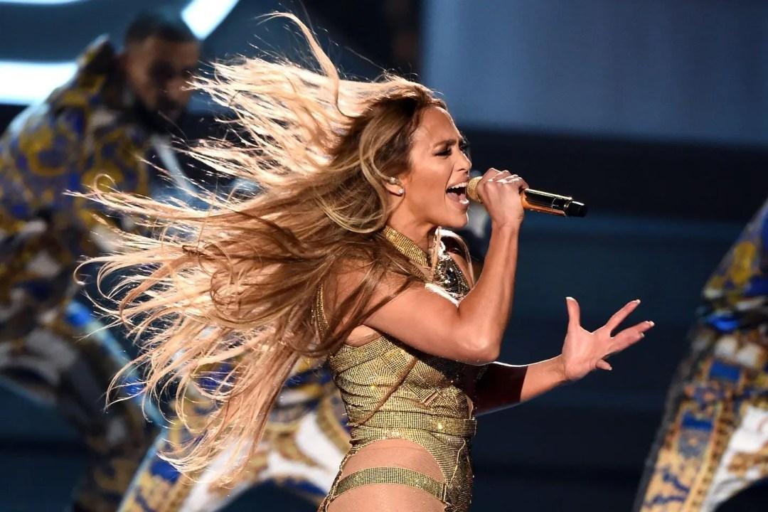 Jennifer Lopez en los VMAs 2018
