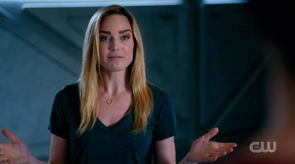 Sara Lance en Legends of Tomorrow 4x10