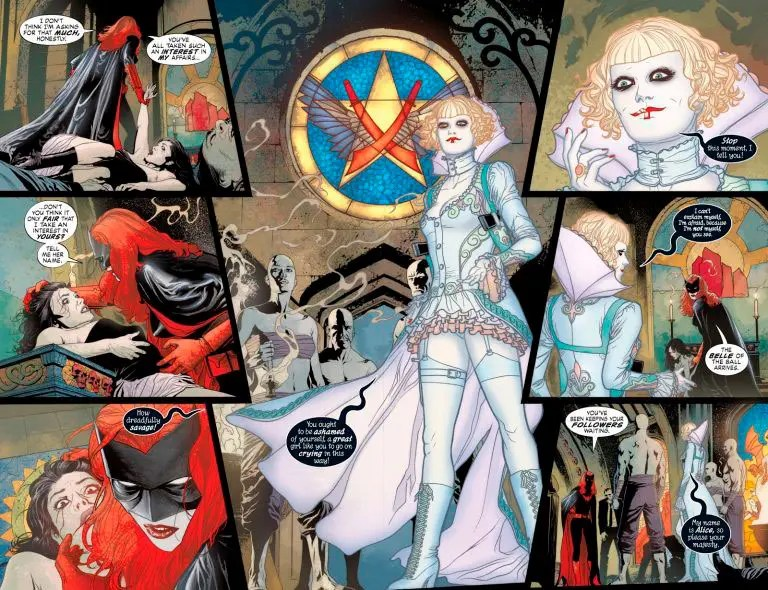 Alice en Batwoman cómic