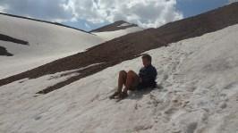 Glissade sur la neige, qui l'eut cru?