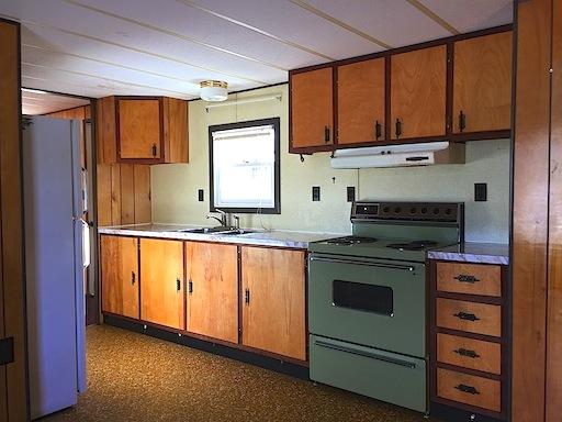 Kitchen, 368 School Street, New Portland, ME 04961