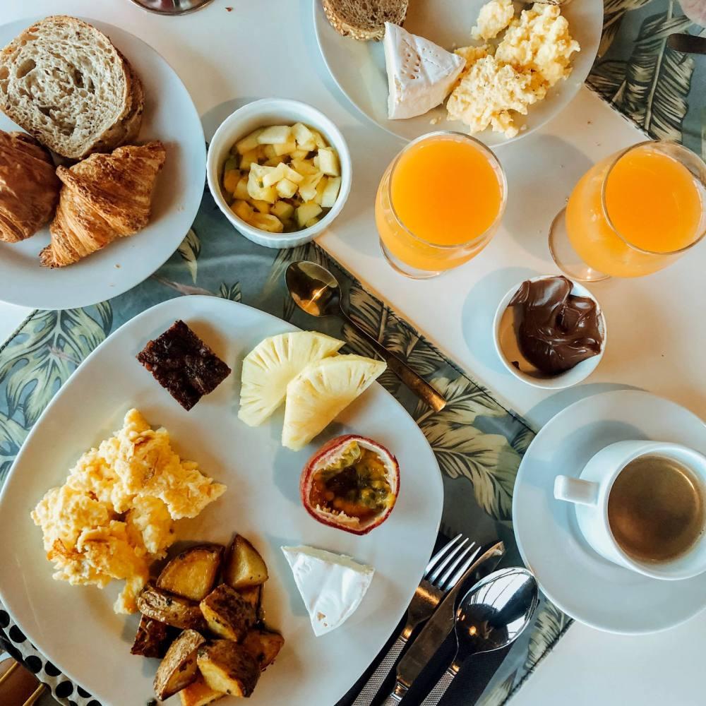 dina morgabine petit dejeuner