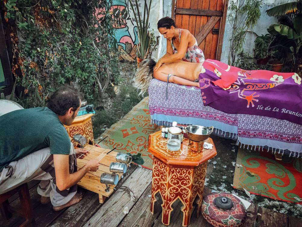 massage en voyage sonore La Réunion