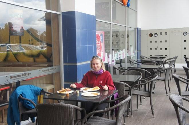 Almuerzo à Latacunga