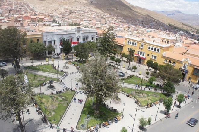 Place principale de Potosi