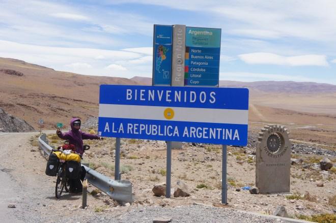 Dernier pays tamponné sur le passeport : l'Argentine