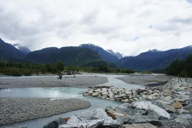 Ici il n'y a aucun souci pour boire l'eau des rivières tout fraîchement sortie des glaciers