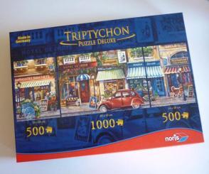 Puzzle Triptyque Paris