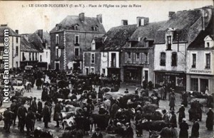 marché hebdomadaire de Grand Fougeray un-jour-de-Foire