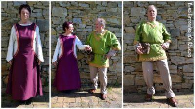 robe médiévale femme surcot1