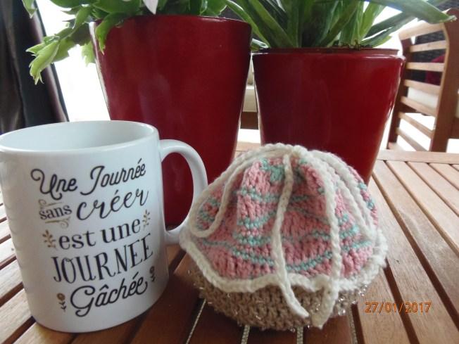 petit cupcake gourmand et jolie tasse, un charmant duo!