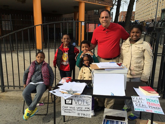 Budget participatif | New York | vote | Queens | 22 district