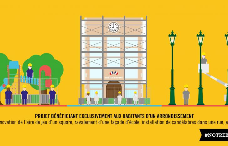 Communication du budget participatif // C Ville de Paris