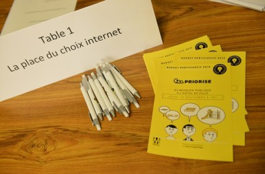 Metz Budget participatif 2015 flyer