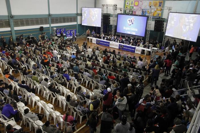 Les assemblées plénières réunissent les mandataires des quartiers, réalisent la synthèse des demandes et préparent les projets pour la COP. // Photo: Ivo Gonçalves / PMPA