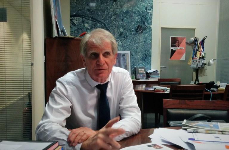 Patrick Braouezec, président de Plaine commune, territoire du Grand Paris