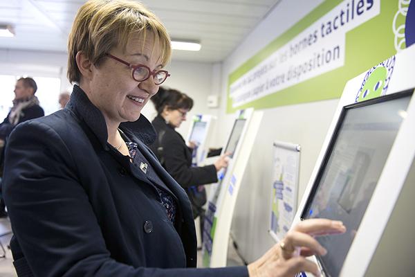 Nathalie Appéré, Maire de Rennes, a lancé le budget participatif, avec l'idée de renouveler le dialogue citoyen?