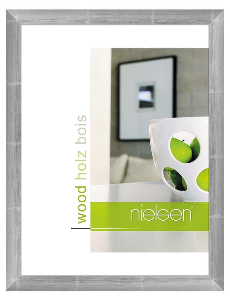 Cadre Standard Nielsen Argent sur anthracite