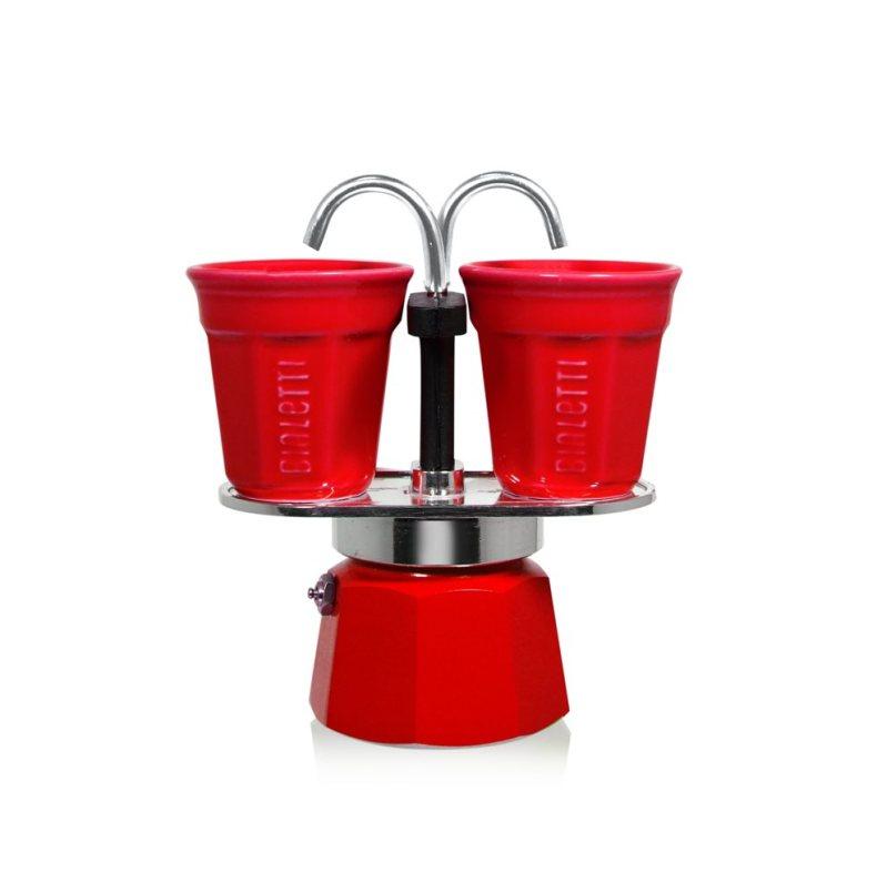 Cafetière fontaine rouge 2 tasses