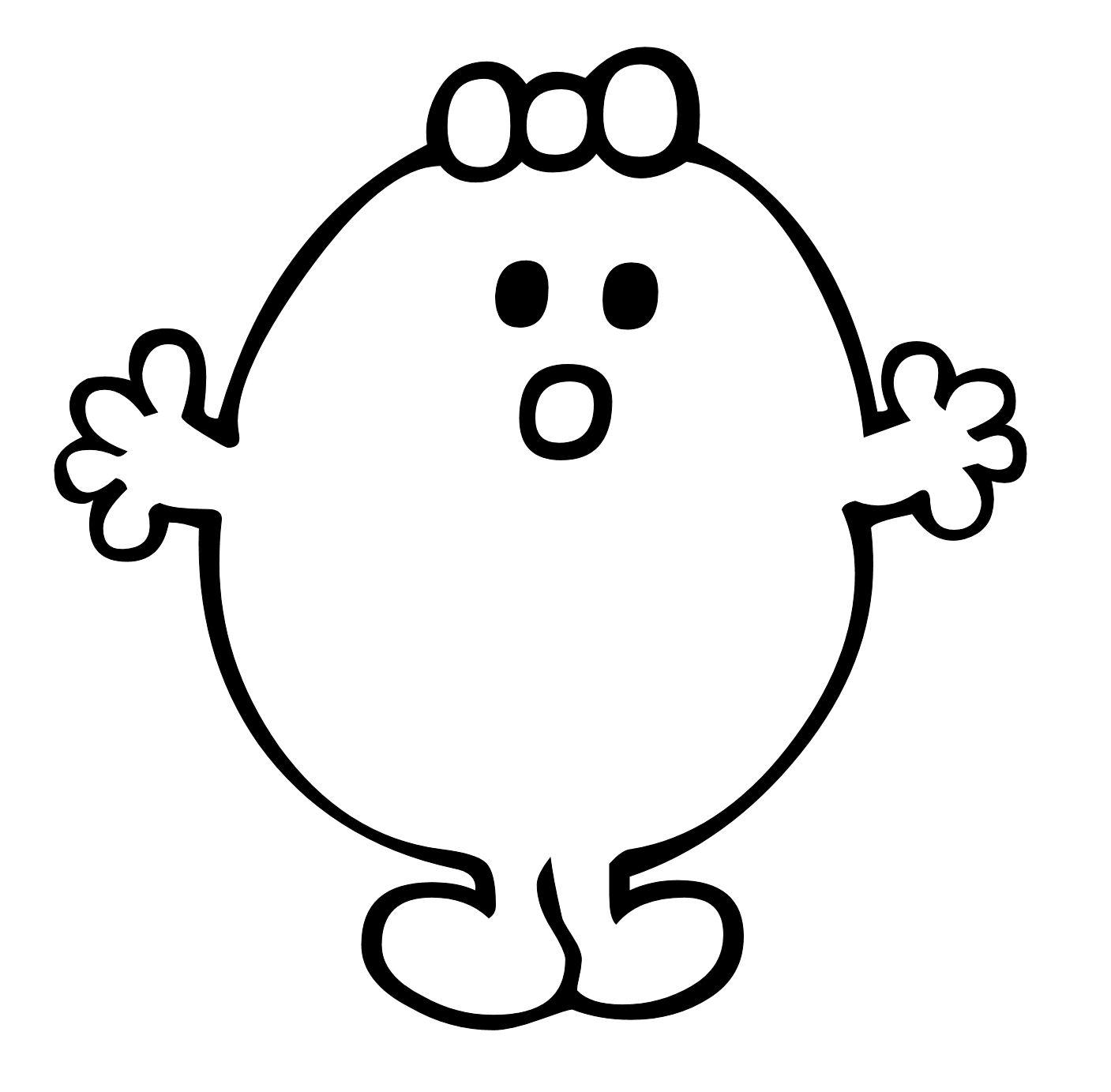Five Senses Mr Potato Head Printable Sketch Coloring Page